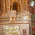 14 - Altar de Don Bosco donde celebró Misa Don Orione