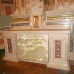 15  - Altar de Don Bosco donde celebró Misa Don Orione