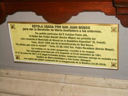17 - Estola de Don Bosco