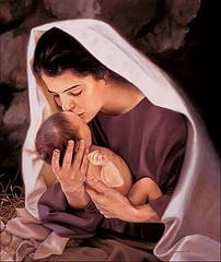 María y el Niño m