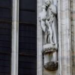 Escultura Don Orione nell Duomo (Milan)