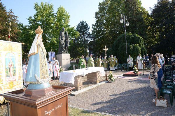 2) 12 settembre 2020 ingresso del nuovo parroco di Pontecurone don Loris Giacomelli